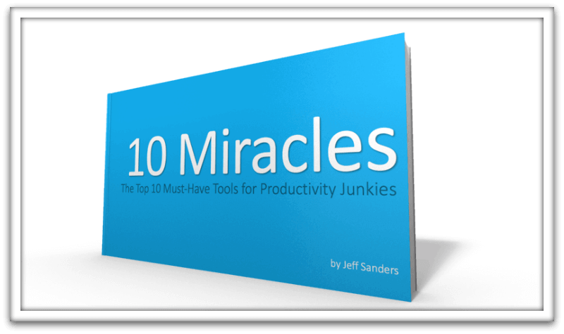 """Grab Your FREE """"10 Miracles"""" eBook"""
