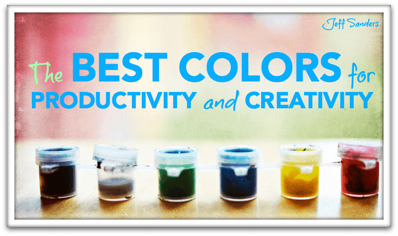 The best colors for productivity and creativity - Colors home office can enhance productivity ...