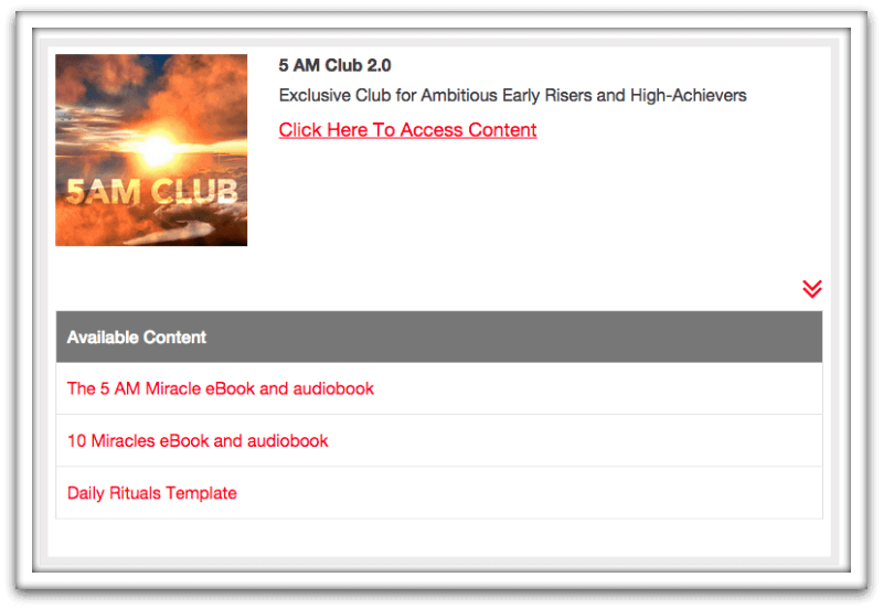 Introducing 5 AM Club 2 0! The New Logged-In Experience
